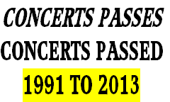 CONCERTS PASSES